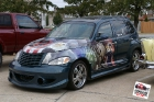 2001 PT Cruiser Partial Wrap