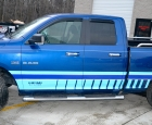2010 Dodge Ram - Custom Stripes