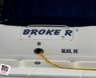 Boat Lettering - Broke R