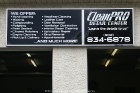 Cleanpro Backlit Sign