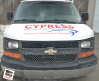 Cut Vinyl Graphics - Cypress Door & Glass