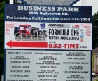 GFP Business Park - Sign