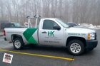 HK Griffith - Truck 4 - Print and Cut Lettering
