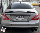 Mercedes CLS63 - Titanium Brush Wrap