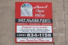 Newark Glass and Mirror Signs