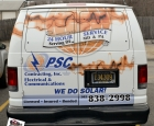 PSC Contracting - Full Van Wrap