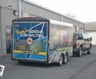 Tom's General Contracting - Trailer Wrap
